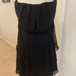 Black Torrid strapless dress